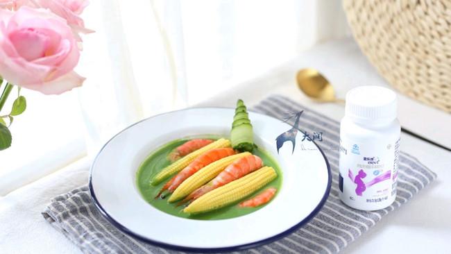 虾仁笋尖豌豆鸡汤的做法