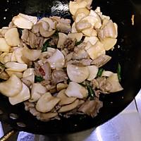 杏鲍菇炒肉片的做法图解4
