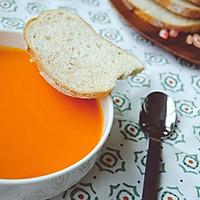 献给即将到来的秋日~~炙烤柿椒番茄浓汤 #松下破壁机#