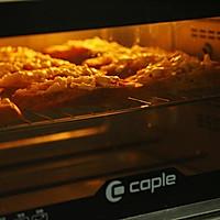 芝士培根烤法棍(烤箱烤面包)的做法图解7