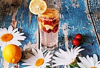 夏日柠檬樱桃冰饮,家庭版莫吉托,冰冰爽爽!的做法