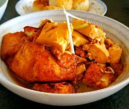 滑蛋南豆腐的做法