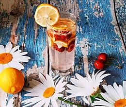 #夏日撩人滋味#夏日柠檬樱桃冰饮,家庭版莫吉托,冰冰爽爽!的做法