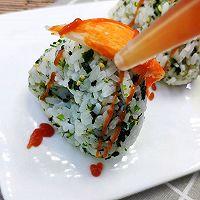 #父亲节,给老爸做道菜#蟹柳海苔饭团的做法图解9