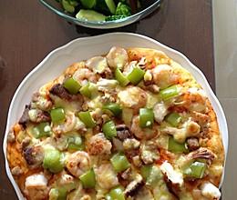 海鲜大汇pizza的做法