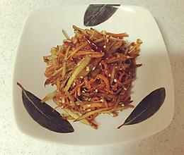"""日本料理""""金平""""キンピラ的做法"""