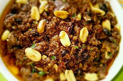 浓香杂酱(浓郁的酱香肉臊子,米饭,面条,馒头的绝佳伴侣)