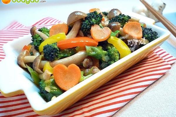 """爱心便当""""菜""""之二 —— 鲍汁兰花蟹味菇的做法"""