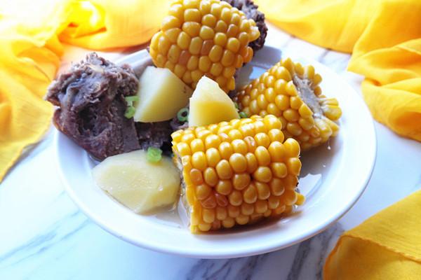 玉米羊肉汤的做法