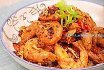 这是一个猛吃虾的季节~蒜香椒盐虾的做法