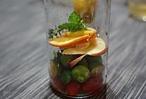 排毒养颜水果茶的做法