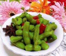 碧绿鲜嫩煮毛豆的做法