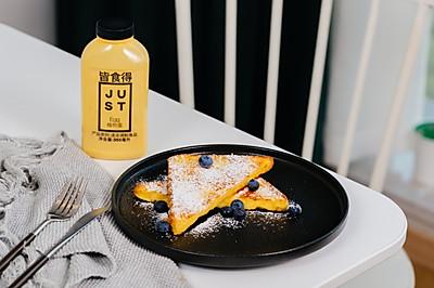 #植物蛋 美味尝鲜记# 快手早餐 黄油煎吐司片