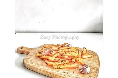 迷迭香烤薯条