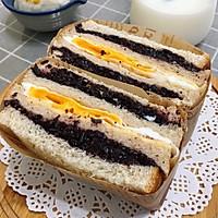 营养美味的芝士肉松三明治(含折纸法)的做法图解22