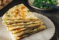 不发面、不用油酥就能做的葱油饼!金黄酥脆香喷喷的做法