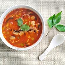 感恩节美食:番茄蘑菇汤