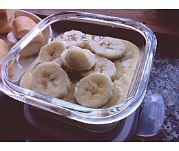 香蕉牛奶蒸燕麦的做法