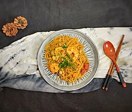 #一人一道拿手菜#海鲜炒面的做法