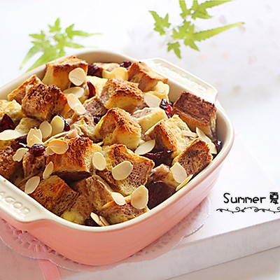 诱惑味蕾的~奶香焗烤吐司