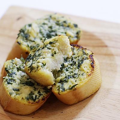 简易蒜香面包