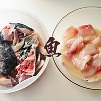 酸菜鱼片的做法图解3