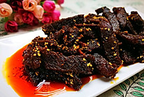 秘制麻辣牛肉干的做法