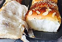 中筋面粉拉丝面包的做法