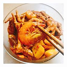 肉蟹煲 明虾煲 鸡爪煲