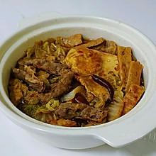 蒜辣酱焖白菜锅