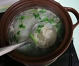 砂锅羊肉萝卜粉丝汤的做法
