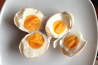 快速腌鸡蛋法