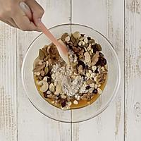 超低卡燕麦坚果脆饼的做法图解3