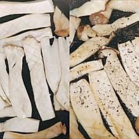 吃出肉味的香煎杏鲍菇➕太太乐鲜鸡汁蒸鸡原汤的做法图解4