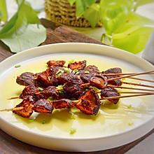 #硬核菜谱制作人#四川把把烧:串烤香菇