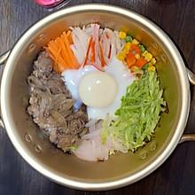 肥牛石锅拌饭