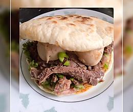 #全电厨王料理挑战赛热力开战!#家庭版驴肉火烧的做法
