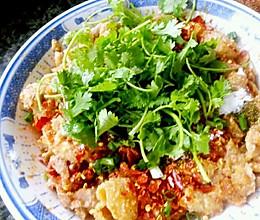 李孃孃爱厨房之一一粉蒸肥肠的做法