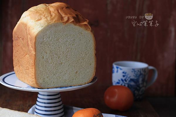 【100%中种北海道吐司(面包机版)】的做法