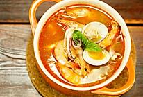 真材实料的海鲜冬阴功汤,不去泰国也能吃到!的做法