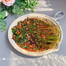 #肉食者联盟#蒜蓉生菜,给肉都不换
