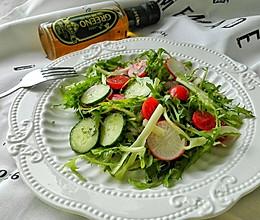 低卡瘦身清新蔬菜沙拉的做法