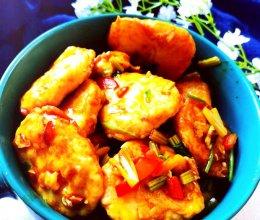 #下饭红烧菜#红烧鱼饼的做法