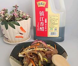#我们约饭吧#恒顺香醋~凉拌牛头肉的做法