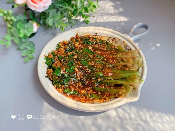 蒜蓉生菜,给肉都不换的做法