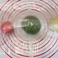 可爱小西瓜面包#金龙鱼精英100%烘焙大赛颖涵战队#的做法图解8