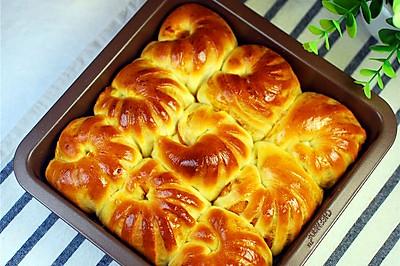 南瓜馅挤挤面包