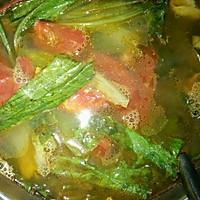 西红柿油麦蛋汤