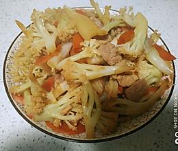 炒花菜 #多力金牌大厨带回家-上海站#的做法