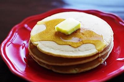 經典美式早餐:松餅(Pancake)